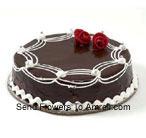 1 Kg (2.2 Lbs) Chocolate Truffle Cake