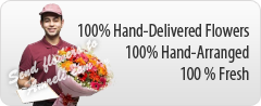 100 % Fresh Flower Delivery in Amreli